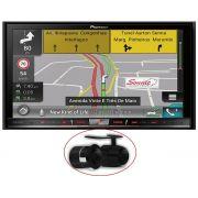 Multimidia Pioneer Avic-F80TV Com TV Digital, GPS,Bluetooth Tela 7 Câmera