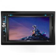 Dvd 2 Din Multilaser Evolve Light P3321 Touch Screen Bluetooth Mirrorlink