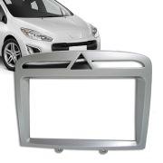 Moldura Painel Dvd 2 Din Peugeot 308 / 408 + Kit Fixação Plástico AP690