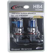 Par Lâmpada HB4 Super Branca Multilaser 5000k 55W Certificada Inmetro