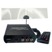 Receptor De Tv Digital Full Hd Com Saída Hdmi Faaftech Ft-Tv-HDII