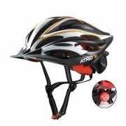 Capacete Ciclismo Bike Atrio C/ Led Sinalizador Tam M Bio27