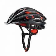 Capacete Ciclismo Bike Atrio C/ Led Sinalizador Tam M Bio23