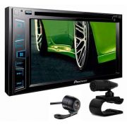 Central Multimidia Pioneer Avh-208bt Vw Golf+câmera De Ré