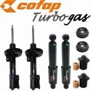 Kit 4 Amortecedor Dianteiro/traseiro Astra 1999  ao 2012 Cofatp + Kit Axios GP32277/GP32276/GBL1085/