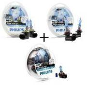 Lâmpada Philips Crystal Vision Ultra H11/hb4/hb3 Honda Civic