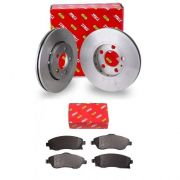 Kit Disco+pastilhas Freio Dianteiro Varga Novo Corsa 2002/2012 RCDI05800-RCPT02930