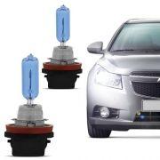 Par Lampada Super Branca H11 5000k Multilaser C/ Inmetro 55w