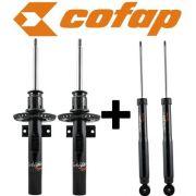 Kit 4 Amortecedor Vw Fox 2003/2009 Original Cofap Novo GB27320/GP32476