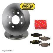 Kit Disco+pastilhas Freio Dianteiro Varga Celta/Classic RPDI00420/RCPT12570
