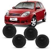 Conjunto De Difusor Ar Ford Ka 2008/2013 Com 4 Peças Preto AP1170