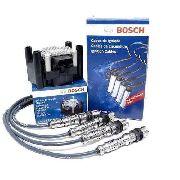 Kit Cabos Bobina Bosch Fox Gol G4 G5 Voyage 1.0 1.6 8v F000ZS0210/F0099C125
