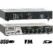 Receiver Amplificador Som Ambiente Frahm Slim 2000 Usb Fm Sd