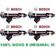 4 Bico Injetor Ecosport Focus 2.0 16v Flex Duratec 0280158162/ 0280157180