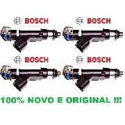 Kit 4 Bico Injetor Ecosport 2.0 16v Flex 2010/2017 Original Bosch 0280158162
