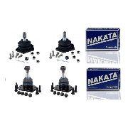Kit 4 Pivô Suspensão Superior Inferior S10/Blazer Nakata N3023/N3012