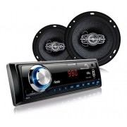 Mp3 Player Multilaser Wave Fiesta Sd Usb+4 Falantes Triaxial