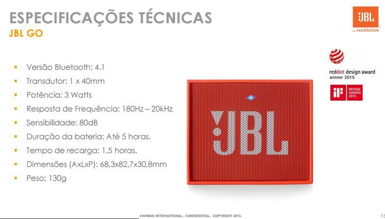 Caixa De Som Portátil JBL Flip GO - SONNIC SOUND