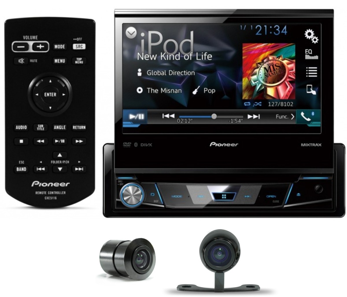 Dvd Automotivo Pioneer Avh-x7780tv Com Tv Digital - SONNIC SOUND