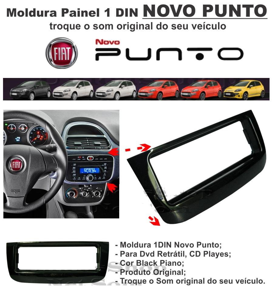 Moldura Painel Punto 2012/2013/2014/2015 Linea 2015 - SONNIC SOUND