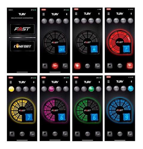 Módulo Pedal Acelerador Tury Fast 2 Bluetooth Polo Tsi Gts FAST 2.0 H  - SONNIC PARTS