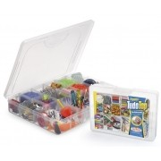 Caixa Organizadora Plástica Com Tampa E Divisórias Móveis Top Nitron 187