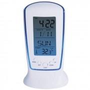Relógio De Mesa Digital com Despertador Temperatura Data E Iluminação DS510