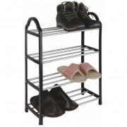 Sapateira Organizadora Multiuso 8 Pares 4 Prateleiras Para Sapatos Casita CA08045