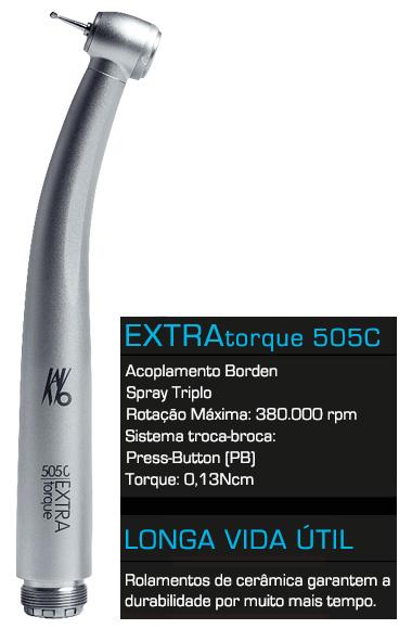 Turbina Extra Torque 505C - kavo  - CTBH Equipamentos Odontológicos