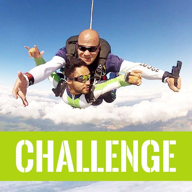 05x Saldo Salto Duplo SUPER VIP CHALLENGE (Vaguina)  - SkyRadical Paraquedismo