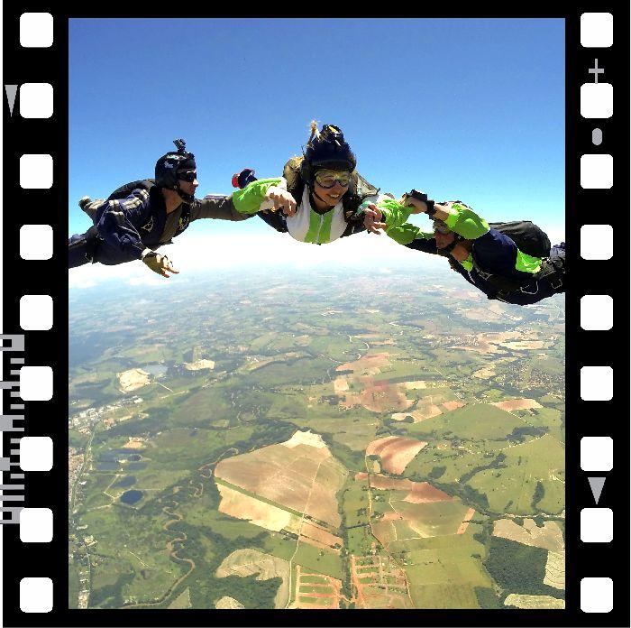 Curso de Paraquedismo AFF Completo - Nível 1 ao 7  - SkyRadical Paraquedismo