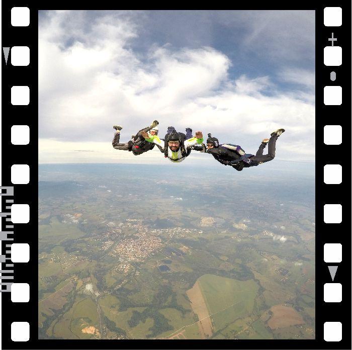 Curso de Paraquedismo AFF - Teórico e Nível 1  - SkyRadical Paraquedismo