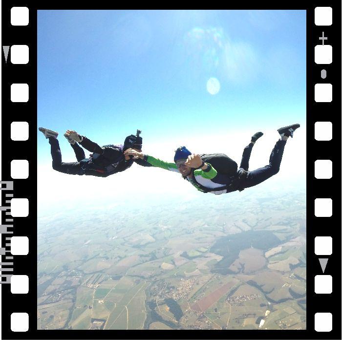 Curso de Paraquedismo AFF - Salto Extra Nível 4, 5, 6 ou 7  - SkyRadical Paraquedismo