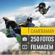 Salto Duplo Super VIP com Filmagem + 250 Fotos