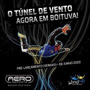 SESSÃO DE 30 MINUTOS - TÚNEL DO VENTO WINDUP - AERO ESPORTE BOITUVA