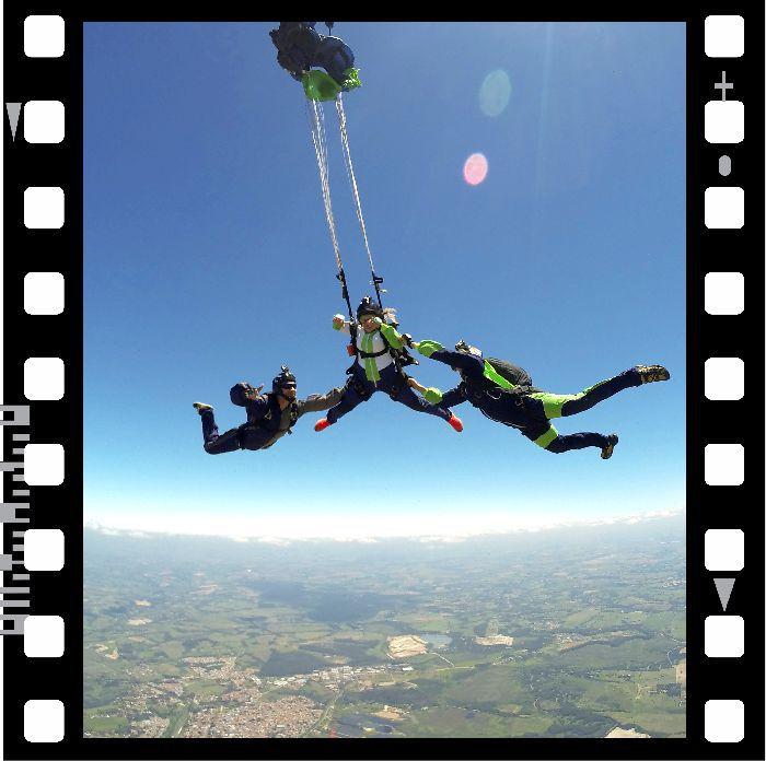 CURSO AFF + PACOTE DE FILMAGEM (LUCAS)  - SkyRadical Paraquedismo