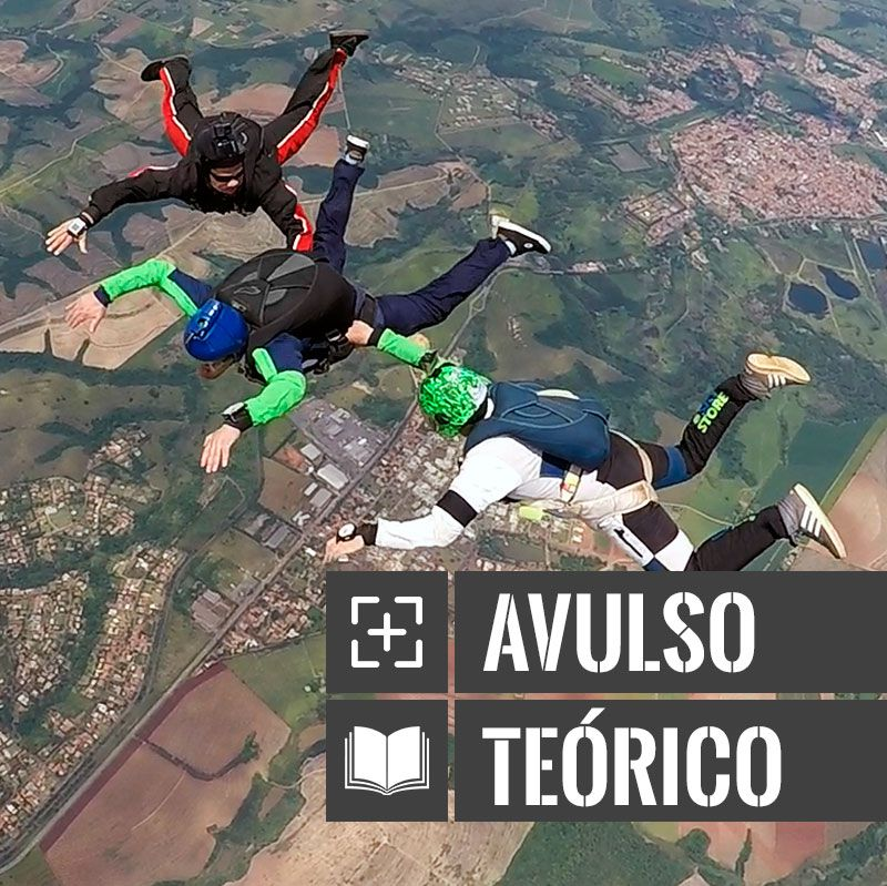 Curso de Paraquedismo AFF Avulso - Teórico  - SkyRadical Paraquedismo