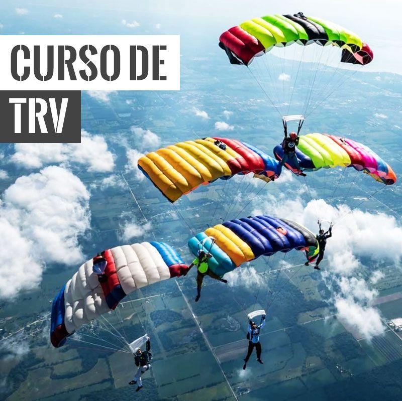 Curso de TRV - Trabalho Relativo de Velames  - SkyRadical Paraquedismo