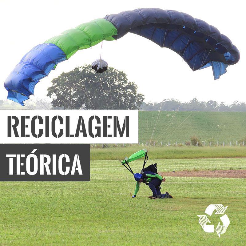 Reciclagem Teórica e Readaptação  - SkyRadical Paraquedismo