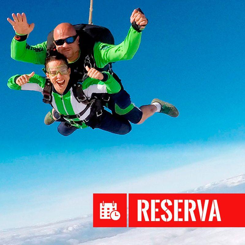 Taxa de Reserva Salto Duplo  - SkyRadical Paraquedismo