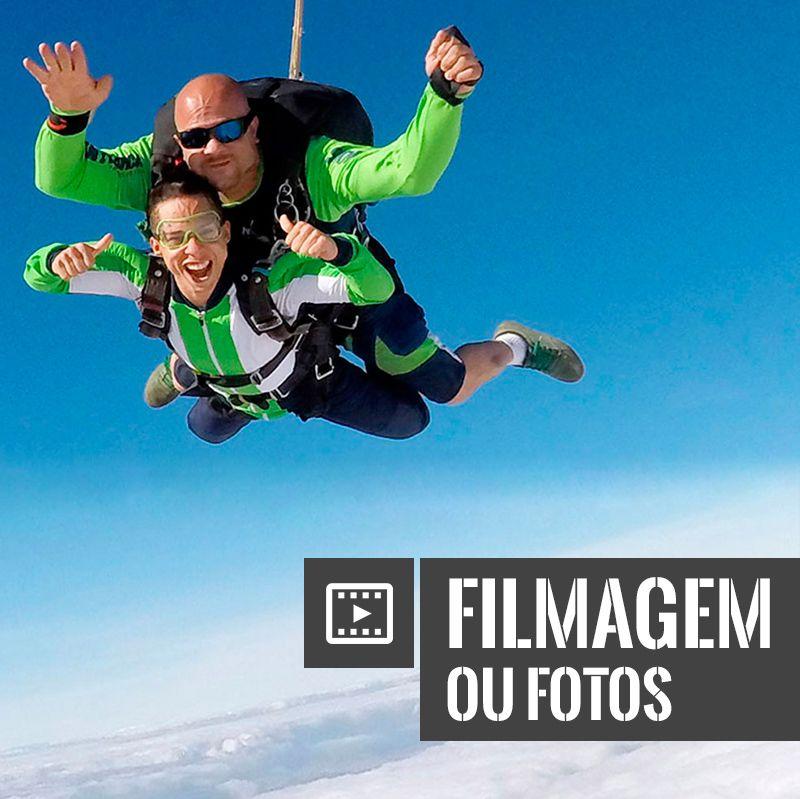 Salto Duplo com Filmagem (ou fotos)  - SkyRadical Paraquedismo