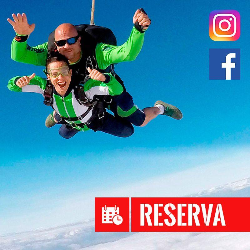 Taxa De Inscrição - Promoção Volte À Vida  - SkyRadical Paraquedismo