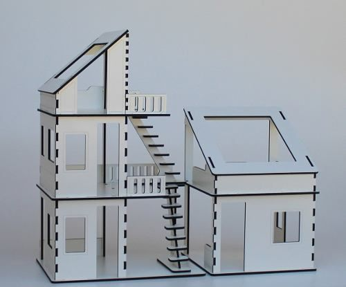 Casa Casinha De Boneca Brinquedo