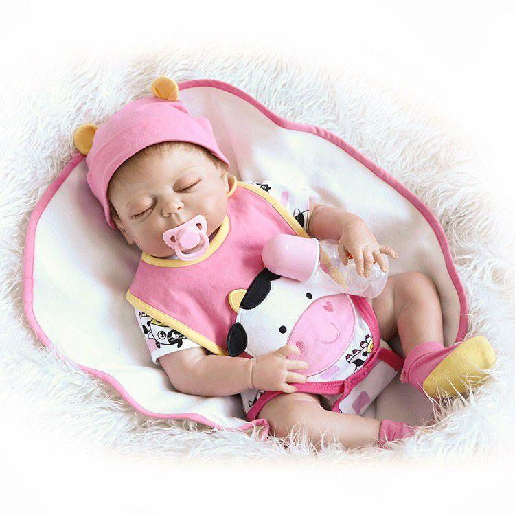 Bebê Reborn Menina Baby Girl Boneca Recém-nascido