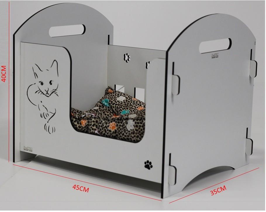 Cama Para Cachorro Gato com colchão  PEQUENA