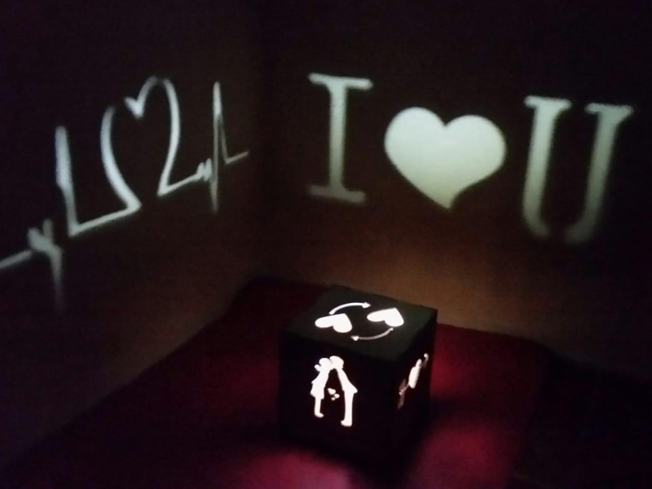 Luminária - Abajur - Presente de Amor - Dia dos Namorados