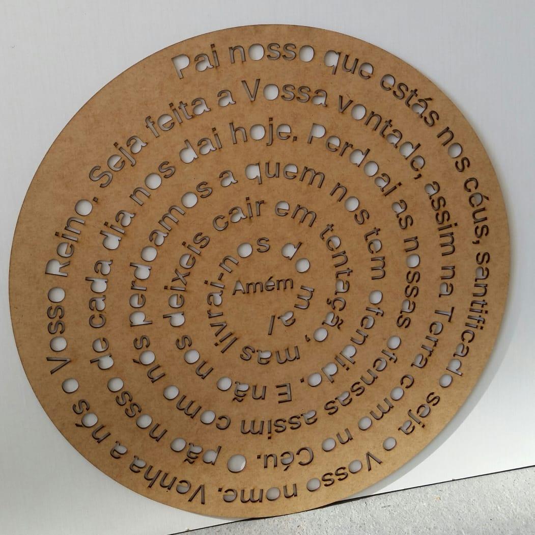 Mandala Pai Nosso 50cm