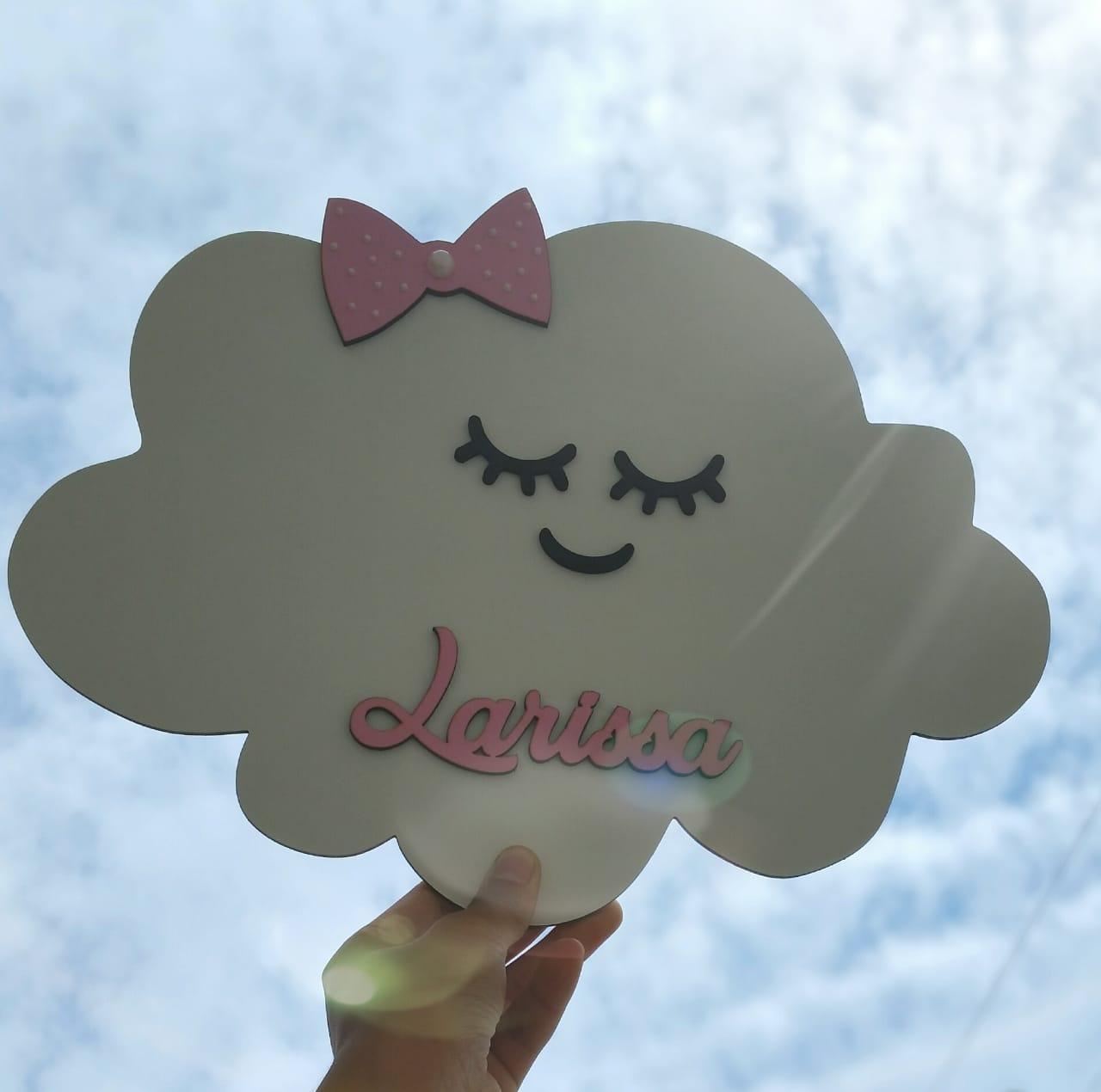 Nuvem Personalizada / Porta Maternidade / Chuva De Amor