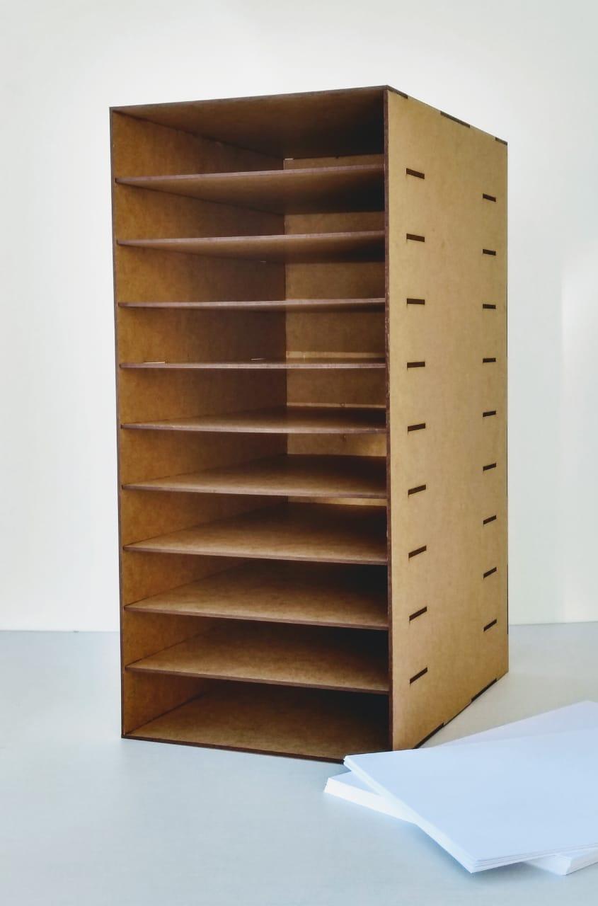 Organizador De Sulfite A4 - Arquivos e Documentos - Top 10