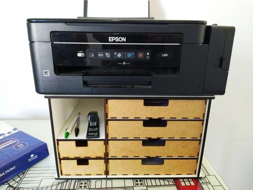 Suporte Para Impressora Organizador De Papel A4 - Escritório